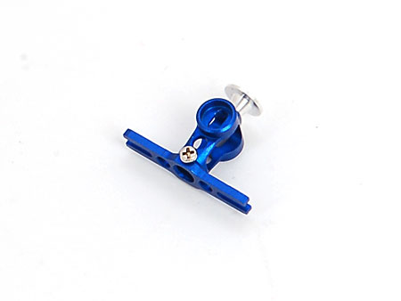 Metal Main Rotor Hub – Blue (mCPX)